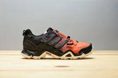 Pánská treková obuv adidas Performance TERREX SWIFT R GTX | BZ0604 | Černá, Červená | 41