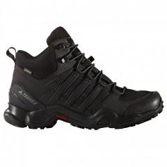 Pánská treková obuv adidas TERREX SWIFT R MID GTX | BB4638 | Černá | 45