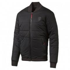Pánská zimní bunda Puma Ferrari Padded Jacket Moonless | 571191-01 | Černá | XXL