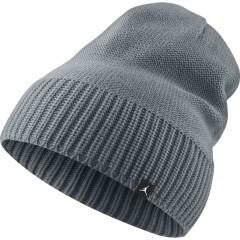 Pánská zimní čepice Jordan JUMPMAN BEANIE MISC COOL GREY
