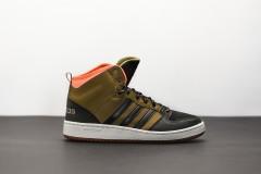 Pánská Zimní obuv adidas Performance CF HOOPS MID WTR | BB9914 | Zelená | 42