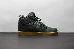Pánská Zimní obuv Nike COURT BOROUGH MID WINTER | AA0547-300 | Zelená | 41