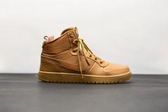 Pánská Zimní obuv Nike COURT BOROUGH MID WINTER | AA0547-700 | Béžová, Hnědá | 42