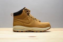 Pánská zimní obuv Nike MANOA LEATHER 41 HAYSTACK/HAYSTACK-VELVET BROWN