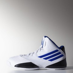 Pánské basketbalové boty adidas 3 Series 2014 | S84112 | Bílá | 46,5