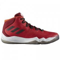 Pánské basketbalové boty adidas Crazy Hustle | BB8257 | Červená | 42