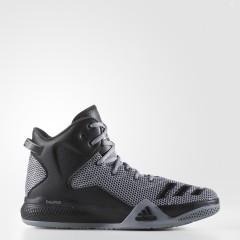 Pánské basketbalové boty adidas Performance DT BBall Mid 44,5 GREY/CBLACK/DKGREY