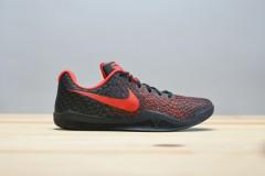 Pánské basketbalové boty boty Nike MAMBA INSTINCT | 852473-016 | Červená, Černá | 42