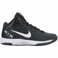 Pánské basketbalové boty Nike THE AIR OVERPLAY IX 44,5 BLACK/WHITE-ANTHRACITE-DARK GR