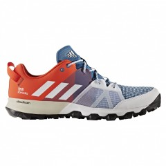 Pánské běžecké boty adidas kanadia 8 tr m   BB4414   Červená, Modrá   42