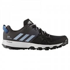 Pánské běžecké boty adidas kanadia 8 tr m 41 CBLACK/EASBLU/TRAGRE