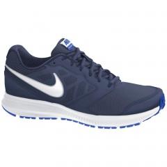 Pánské běžecké boty Nike DOWNSHIFTER 6 MSL 46 MID NVY/WHITE-LYN BL-MTLLC SLV