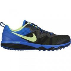 Pánské běžecké boty Nike DUAL FUSION TRAIL | 652867-017 | Černá, Modrá | 41