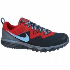 Pánské běžecké boty Nike DUAL FUSION TRAIL | 652867-009 | Černá, Modrá | 41