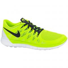 Pánské běžecké boty Nike FREE 5.0 41 VOLT/BLACK-WHITE