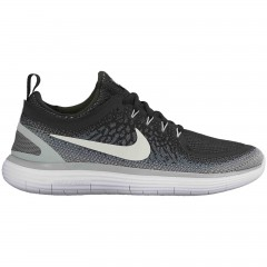 Pánské běžecké boty Nike FREE RN DISTANCE 2 42,5 BLACK/WHITE-COOL GREY-DARK GRE