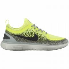 Pánské běžecké boty Nike FREE RN DISTANCE 2 41 VOLT/BLACK-DARK GREY-WOLF GREY