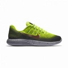 Pánské běžecké boty Nike LUNARGLIDE 8 SHIELD | 849568-700 | Šedá, Žlutá | 41
