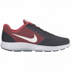 Nike revolution 3 47 ANTHRACITE/WHITE-TRACK RED