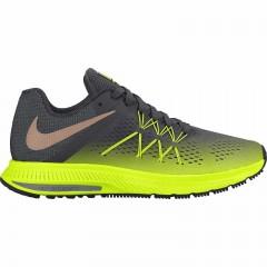 Pánské běžecké boty Nike ZOOM WINFLO 3 SHIELD 44 VOLT/MTLC RED BRONZE-ANTHRACIT