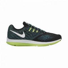 Pánské běžecké boty Nike ZOOM WINFLO 4 | 898466-003 | Černá, Modrá | 42,5