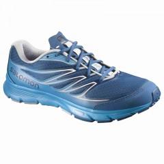 Pánské běžecké boty Salomon SENSE LINK | 376026 | Modrá | 42