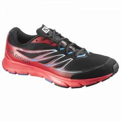 Pánské běžecké boty Salomon SENSE LINK | 376027 | Černá, Červená | 42
