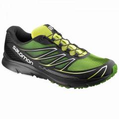 Pánské běžecké boty Salomon SENSE MANTRA 3 | 373276 | Černá, Zelená | 44,5