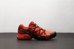 Pánské Běžecké boty Salomon SPEEDCROSS VARIO 2 GTXR Scarle | 398470 | Oranžová | 42