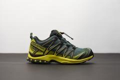 Pánské Běžecké boty Salomon XA PRO 3D GTXR Darkest Sp/Sulp | 398526 | Žlutá, Černá | 44