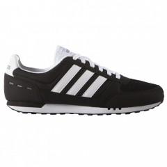 Pánské boty adidas NEO CITY RACER | F99329 | Černá | 41