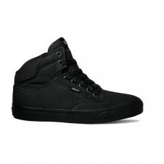 Pánské boty Vans M WINSTON HI (TWILL) BLACK/B | ZDR6FY | Černá | 40,5
