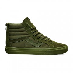 Pánské boty Vans U SK8-HI REISSUE ZIP (MONO) IV | 4KYJUV | Zelená | 40,5