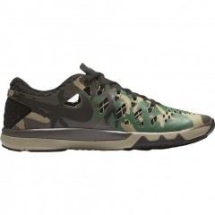 Pánské fitness boty Nike TRAIN SPEED 4 42 BLACK/GORGE GREEN-BAROQUE BROW
