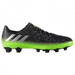 Pánské kopačky adidas Performance MESSI 16.4.FxG | AQ3526 | Černá, Zelená | 41