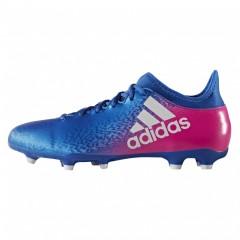 Pánské kopačky adidas X 16.3 FG   BB5641   Fialová, Modrá   42