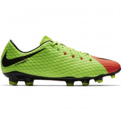Pánské kopačky Nike HYPERVENOM PHELON III FG | 852556-308 | Červená, Zelená | 41