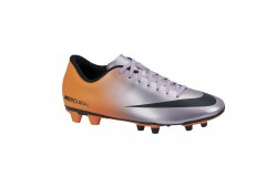 Pánské kopačky Nike MERCURIAL VORTEX FG | 573873-508 | Oranžová, Šedá | 43