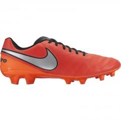 Pánské kopačky Nike TIEMPO GENIO II LEATHER FG | 819213-608 | Oranžová | 41