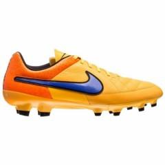 Pánské kopačky Nike Tiempo Genio Leather FG | 631282-858 | Oranžová | 41