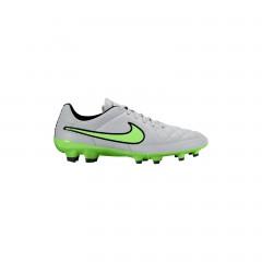Pánské kopačky Nike TIEMPO GENIO LEATHER FG | 631282-030 | Šedá, Zelená | 41
