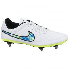 Pánské kopačky Nike TIEMPO GENIO LEATHER SG | 631616-174 | Bílá | 41