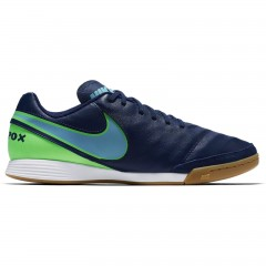 Pánské kopačky Nike TIEMPOX GENIO II LEATHER IC 41 COASTAL BLUE/POLARIZED BLUE-RA