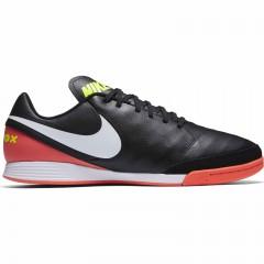 Pánské kopačky Nike TIEMPOX GENIO II LEATHER IC | 819215-018 | Černá | 47,5