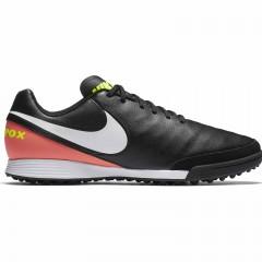 Pánské kopačky Nike TIEMPOX GENIO II LEATHER TF | 819216-018 | Černá | 42