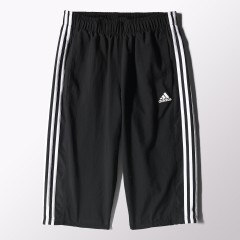 Pánské kraťasy adidas ESS 3S 3/4 PANT M BLACK/WHITE