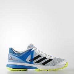 Pánské sálové boty adidas Performance Court Stabil 13 | AQ6121 | Bílá, Modrá | 42,5