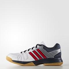 Pánské sálové boty adidas Performance Ligra 4 41 FTWWHT/VIVRED/NTNAVY