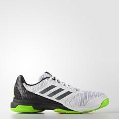 Pánské sálové boty adidas Performance Multido Essence 42,5 FTWWHT/NGTMET/SGREEN