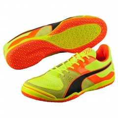 Pánské Sálové boty Puma Invicto Sala Safety Yellow-Pum | 103241-14 | Žlutá | 42